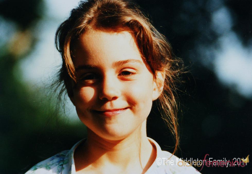 Foto de Kate Middleton de 1987