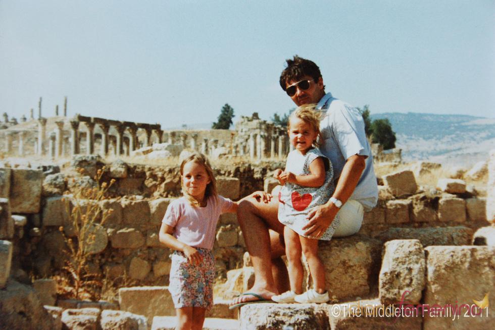 Kate Middleton, vacaciones en familia en 1984