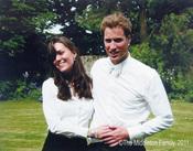 Kate Middleton y el Príncipe Guillermo de Inglaterra en 2007