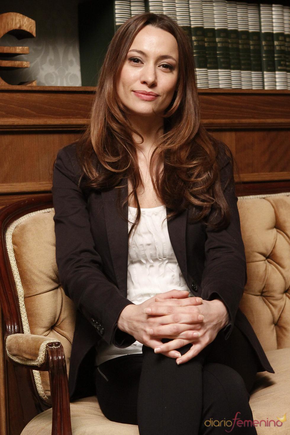 Natalia Verbeke en la presentación de la quinta temporada de 'Doctor Mateo'