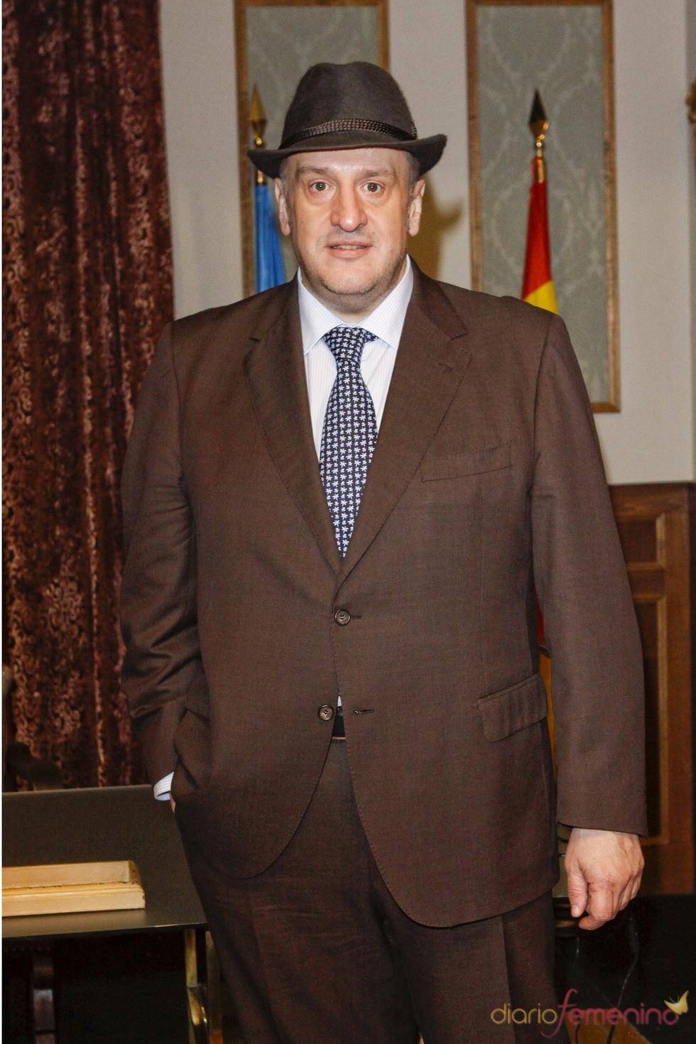 Fernando Albizu en la presentación de la quinta temporada de 'Doctor Mateo'