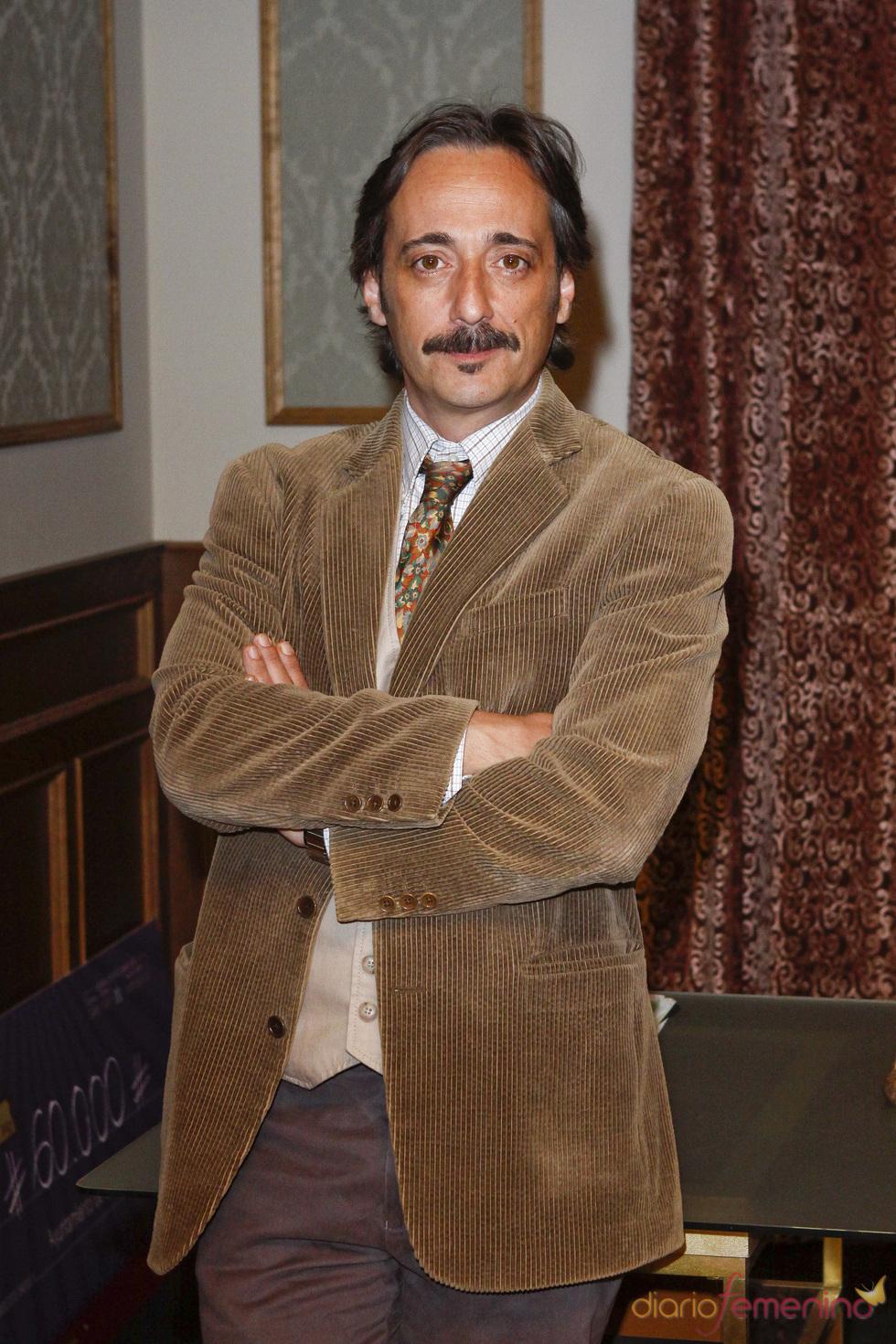 Javier Coll en la presentación de la quinta temporada de 'Doctor Mateo'