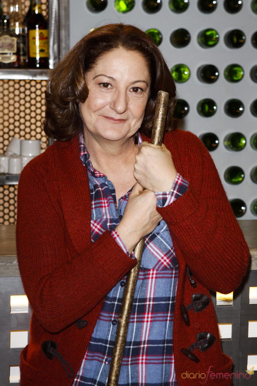 Rosario Pardo en la presentación de la quinta temporada de 'Doctor Mateo'