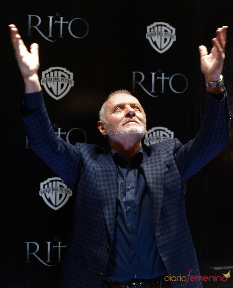 Anthony Hopkins asegura que solo sirve para ser actor