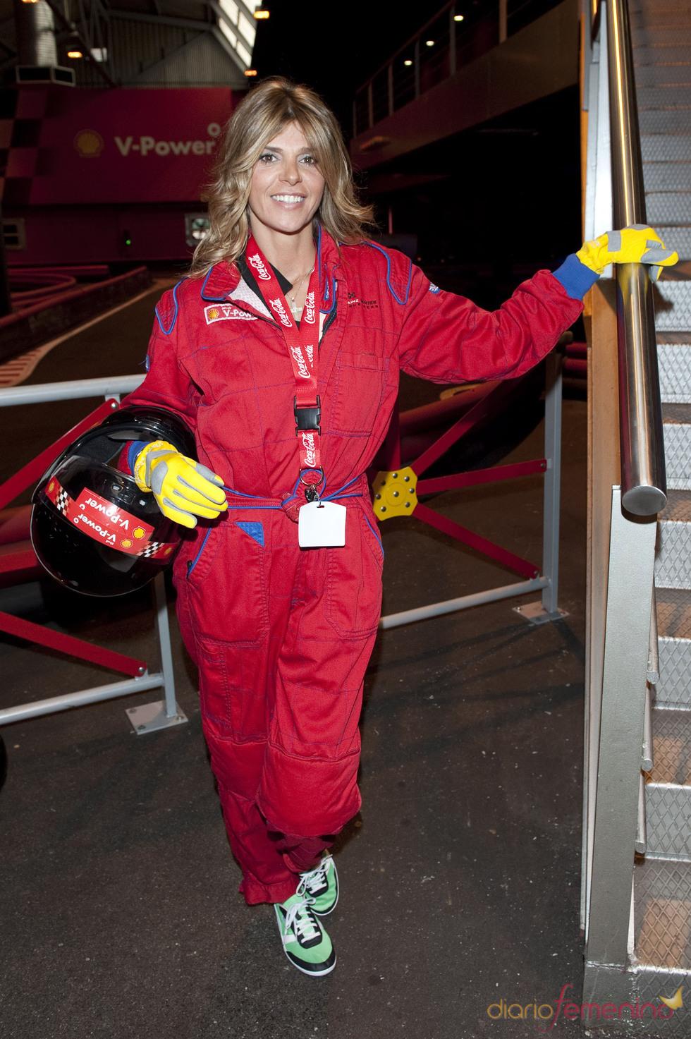 Arancha de Benito, piloto de Fórmula 1 el Día de la Mujer Trabajadora