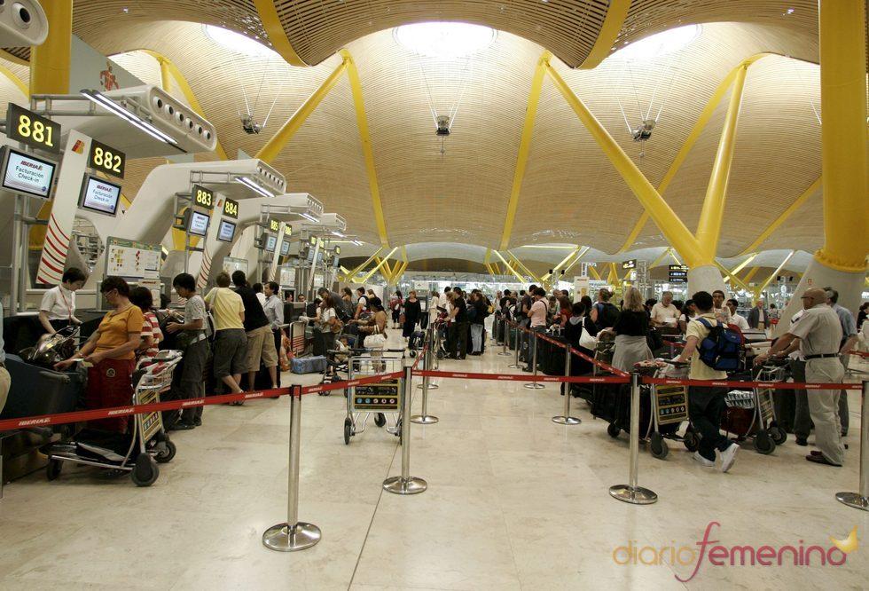 Imagen del aeropuerto de Madrid-Barajas