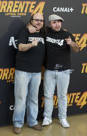 Santiago Segura y Paquirrín presentan 'Torrente 4'