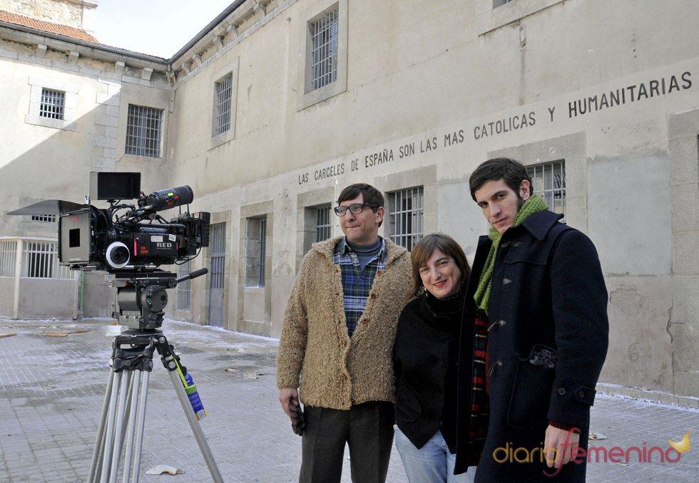 Quim Gutiérrez en el rodaje de 'El precio de la libertad'