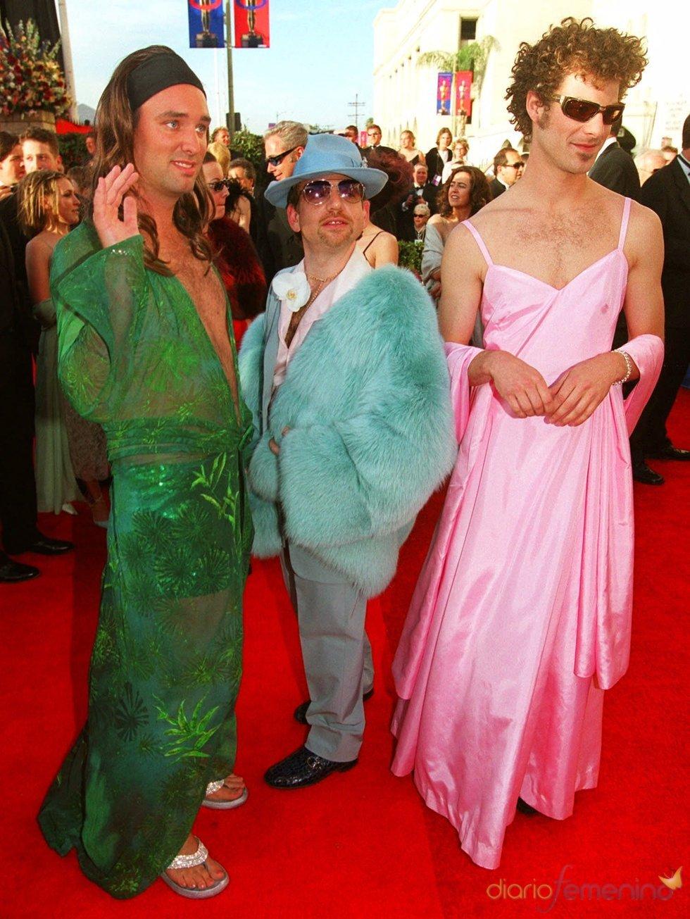 Matt Stone y Trey Parker, creadores de 'South Park' en los Oscar 2000