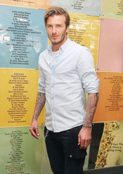 David Beckham copia el corte de pelo a Aitor Ocio