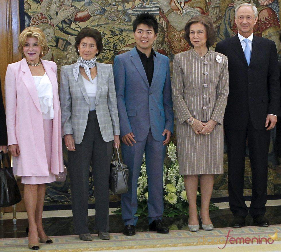 La Reina Sofía, premiada por Montblanc