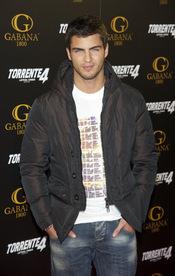 Maxi Iglesias en el estreno de 'Torrente 4: lethal crisis'