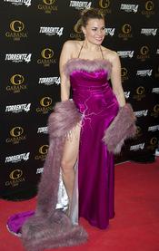 María Lapiedra en el estreno de 'Torrente 4: lethal crisis'