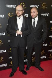 Santiago Segura y Paquirrín en el estreno de 'Torrente 4: lethal crisis'