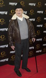 Tony Leblanc en el estreno de 'Torrente 4: lethal crisis'