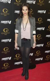Nerea Garmendia en el estreno de 'Torrente 4: lethal crisis'