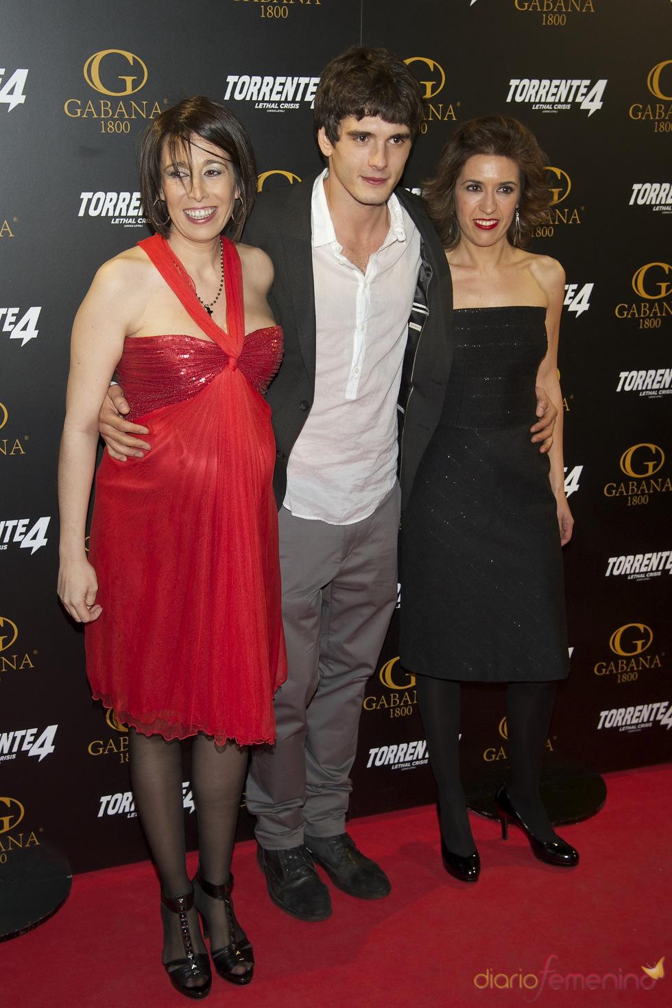 Yon González en el estreno de 'Torrente 4: lethal crisis'