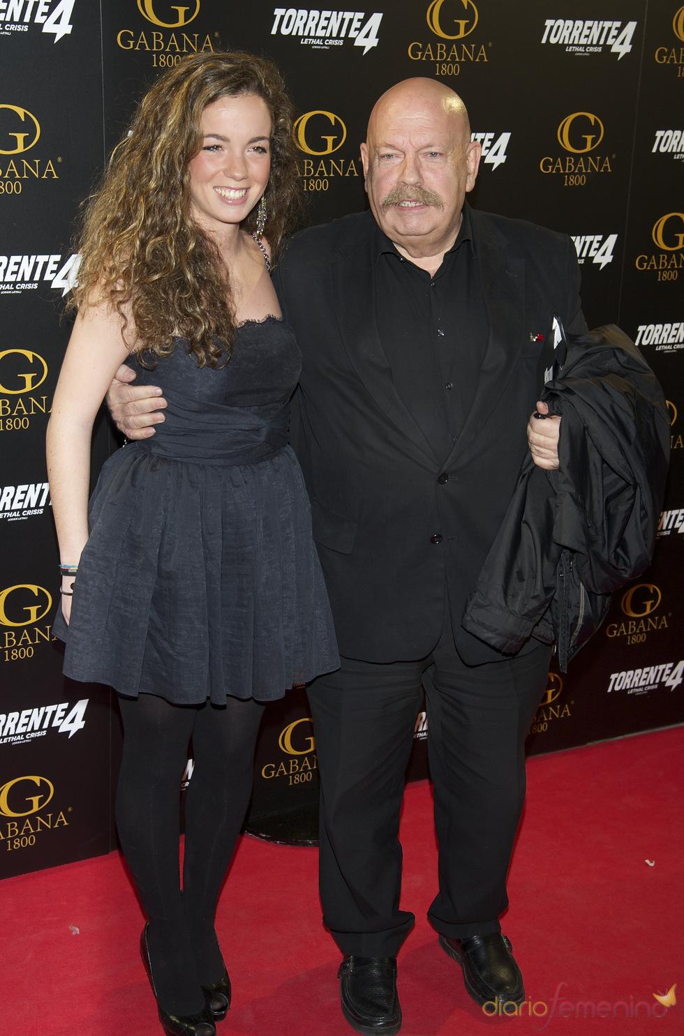 José María Iñigo en el estreno de 'Torrente 4: lethal crisis'