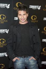David de María en el estreno de 'Torrente 4: lethal crisis'