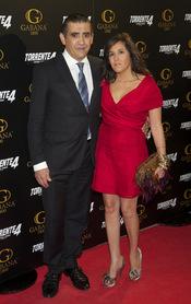 Jaime Martínez Bordiú y Marta Fernández en el estreno de 'Torrente 4: lethal crisis'
