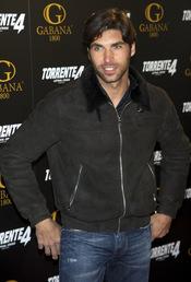 Cayetano Rivera en el estreno de 'Torrente 4: lethal crisis'