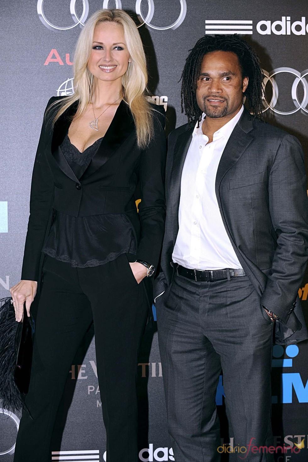 Christian Karembeu se separa de su mujer Adriana Karembeu
