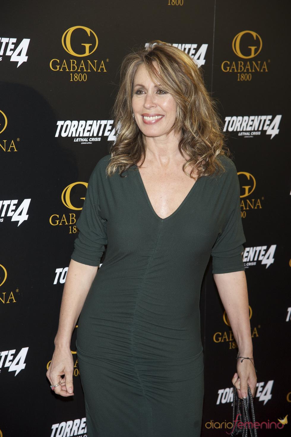 Miriam Díaz Aroca en el estreno de 'Torrente 4: lethal crisis'