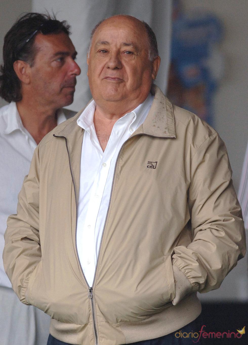 Amancio Ortega, el séptimo más rico del mundo