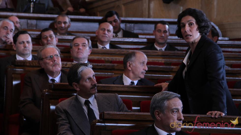 Elvira Mínguez ha protagonizado 'Clara Campoamor. La mujer olvidada'