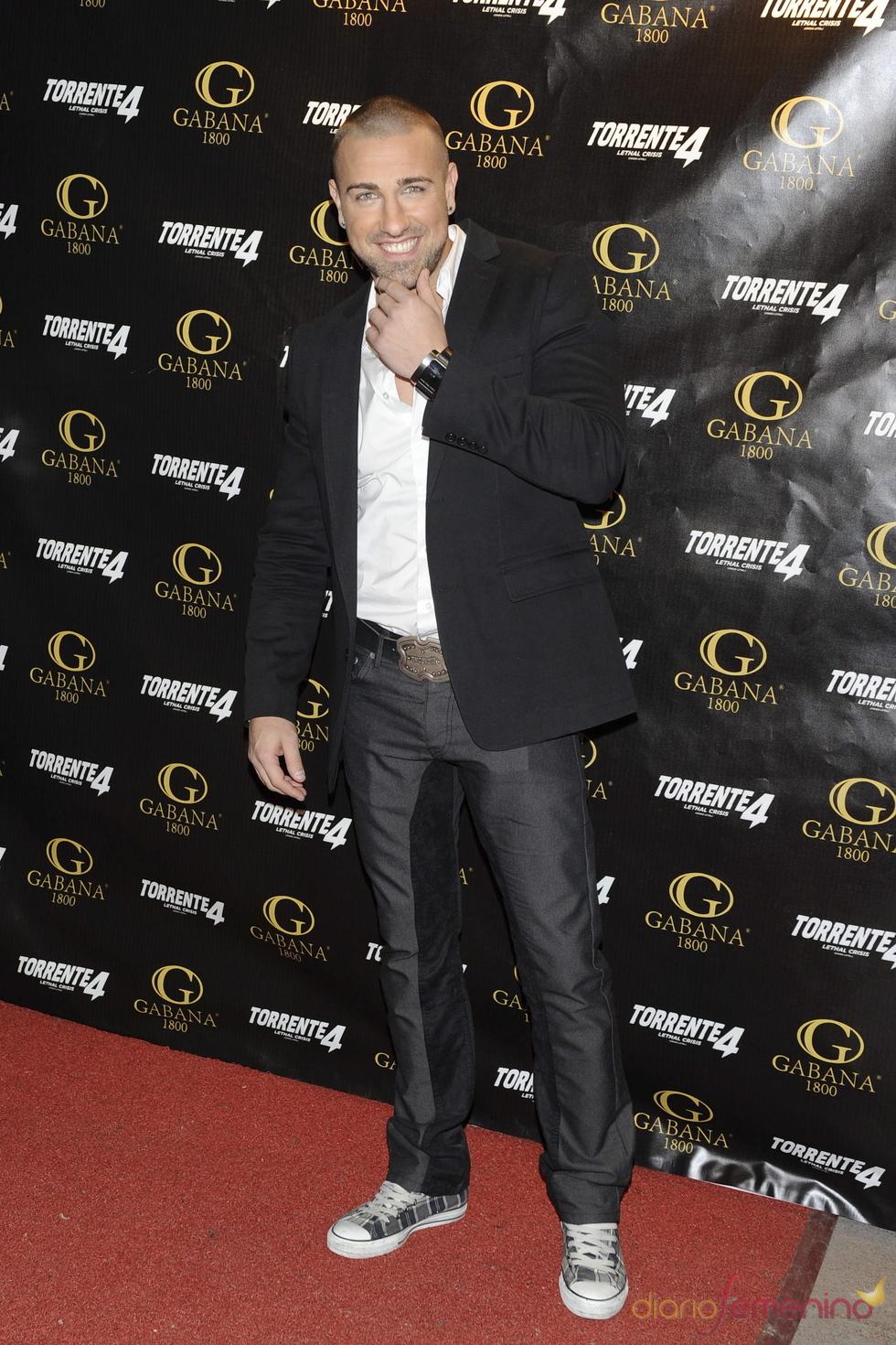 Rafa Mora en la presentación de 'Torrente 4: lethal crisis'