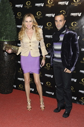 Ana Obregón y Luis Rollán en el estreno de 'Torrente 4: lethal crisis'