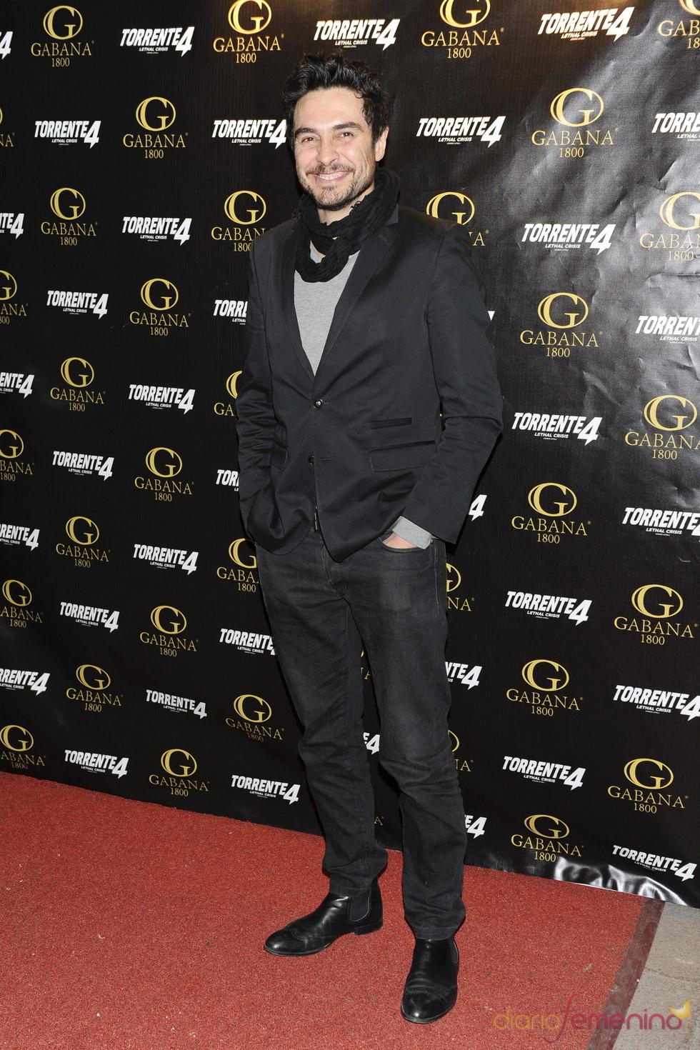 José Manuel Seda en el estreno de 'Torrente 4: lethal crisis'
