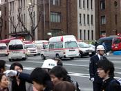Muchos edificios se han venido abajo tras el terremoto en Japón