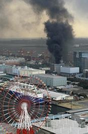 Incencios en Tokio tras el terremoto que ha afectado a gran parte de Japón