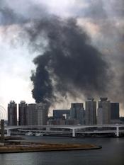 Tokio arde tras el terremoto de 8,9 grados en Japón
