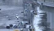 Imagen del tsunami provocado por el terremoto de Japón