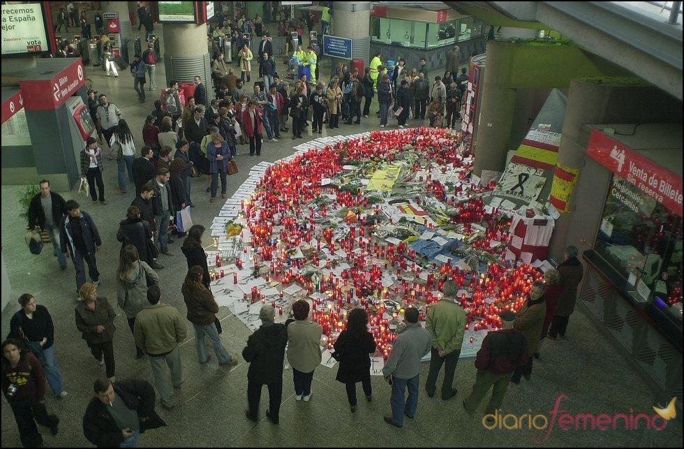Homenajes a las víctimas del atentado del 11 de marzo en 2004