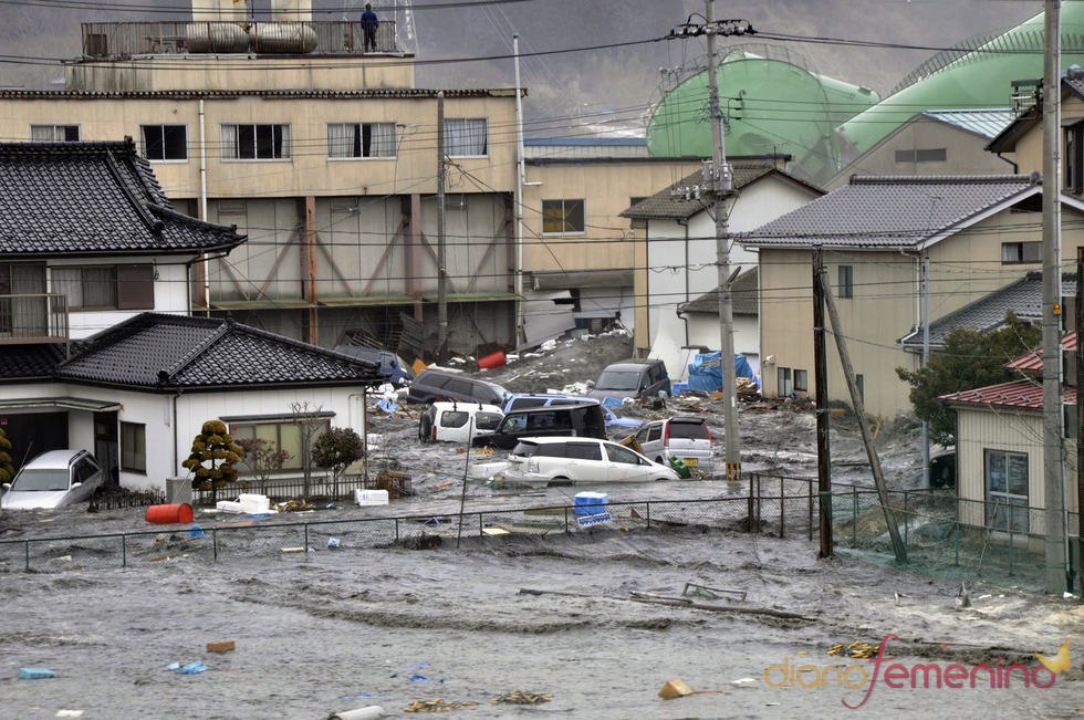 El tsunami devasta ciudades enteras en Japón