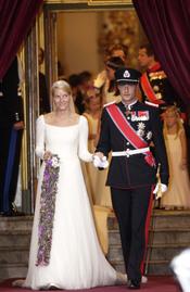 Boda de Mette-Marit y Haakon de Noruega