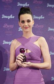 Katy Perry en la presentación de su perfume en Alemania