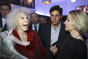 Fran Rivera, Eugenia Martínez de Irujo y la Duquesa de Alba en Sevilla