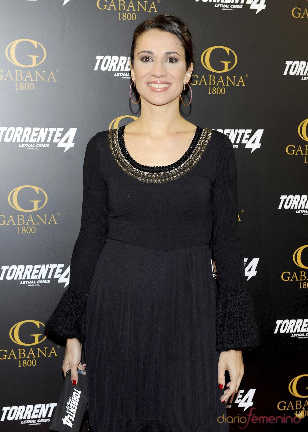 Silvia Jato acudió a la première de 'Torrente 4: Lethal crisis'