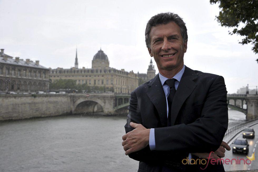 Mauricio Macri, alcalde de Buenos Aires, espera su cuarto hijo
