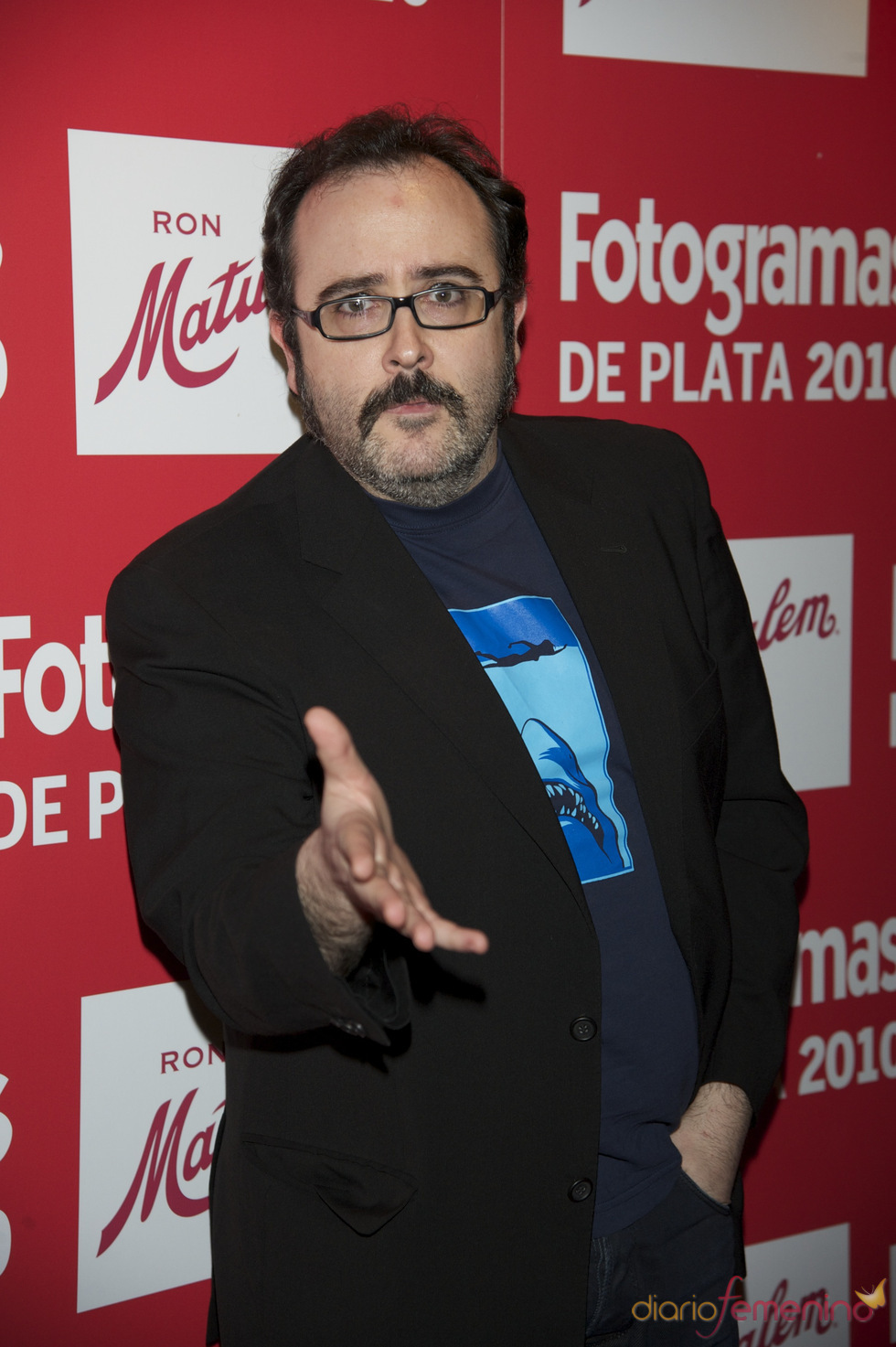 Carlos Areces en los Premios Fotogramas de Plata 2010