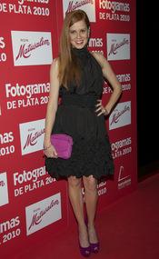 María Castro en los Premios Fotogramas de Plata 2010
