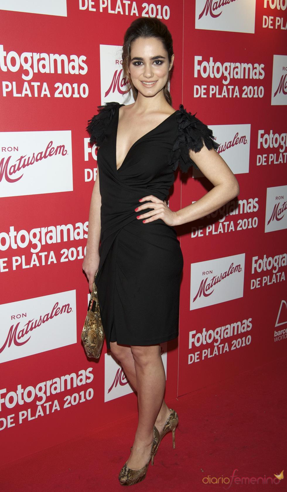 Alicia Sanz en los Premios Fotogramas de Plata 2010