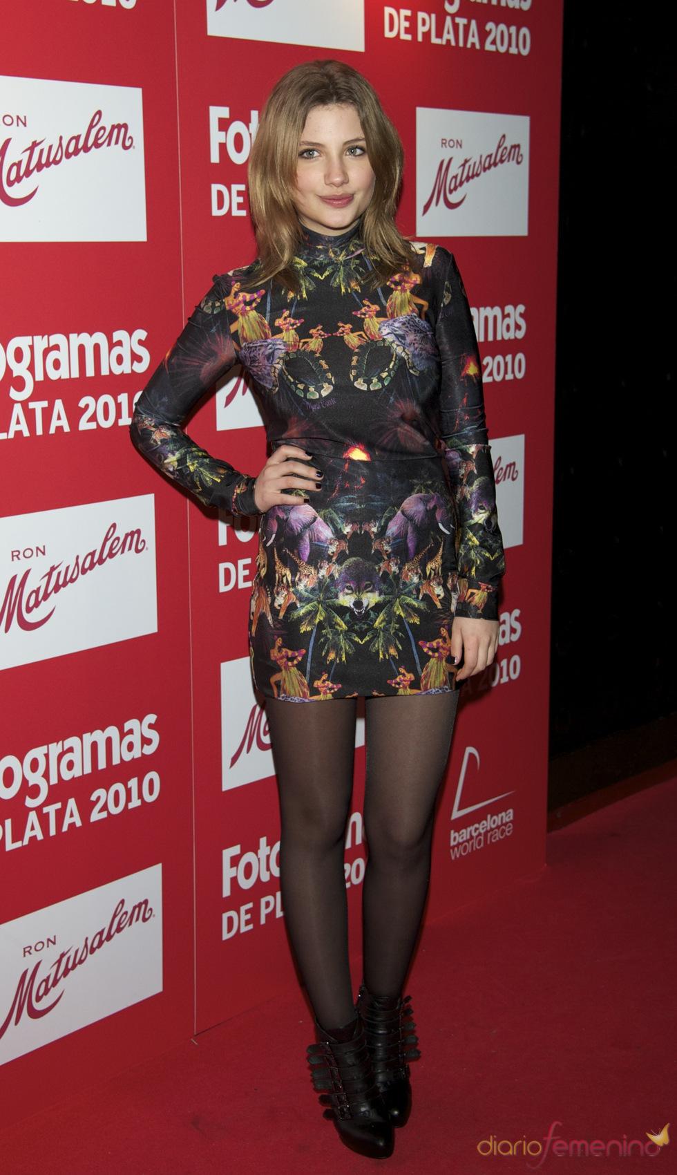 Miriam Giovanelli en los Premios Fotogramas de Plata 2010