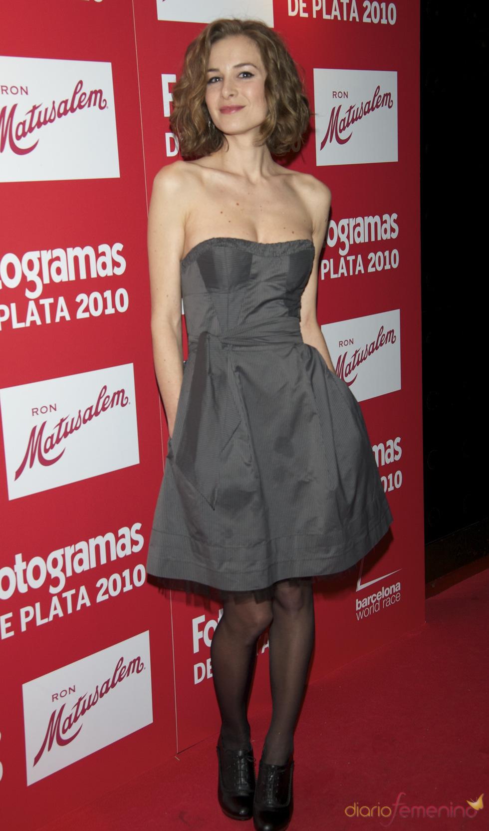 Merce Llorens en los Premios Fotogramas de Plata 2010