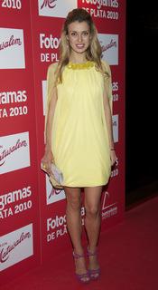 Natasha Yarovenko en los Premios Fotogramas de Plata 2010
