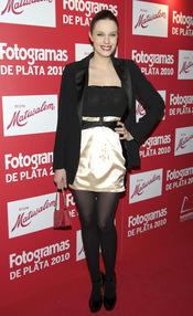 Carolina Bang en los Premios Fotogramas de Plata 2010